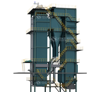 DHX circulating fluidized bed steam boiler