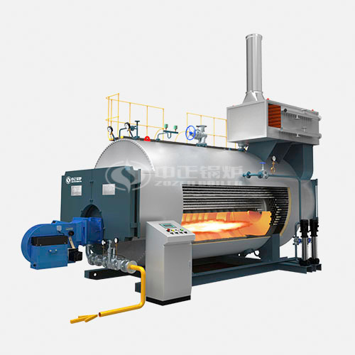 Natural gas steam boiler daily operating cost