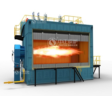 Water tube Gas-fired super heating steam boiler
