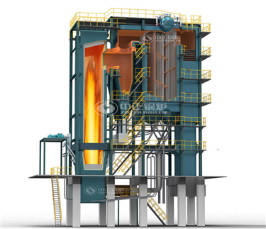 SHX series circulating fluidized bed steam boiler