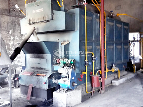 4 ton Coal-fired Steam Boiler For Central Heating In Hongkong