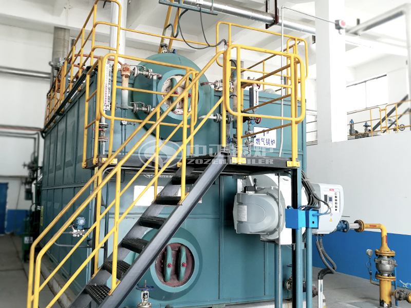 6&10 ton/h Condensing Gas-Fired Boiler For Wire and Cable Factory