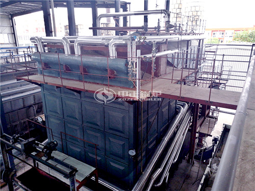 25 ton Coal-fired Steam Boiler For Textile In Pakistan